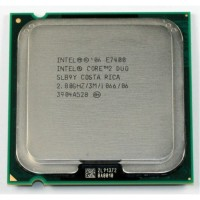 Procesor Intel Core2 Duo E7400, 2.8Ghz, 3Mb Cache, 1066 MHz FSB
