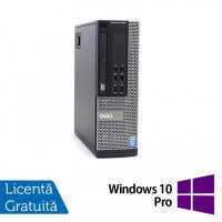 Calculator DELL OptiPlex 9020 SFF, Intel Core i3-4150 3.50GHz, 8GB DDR3, 120GB SSD, DVD-RW + Windows 10 Pro