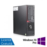 Calculator FUJITSU SIEMENS E720 Desktop, Intel Core i3-4130 3.40GHz, 4GB DDR3, 500GB SATA, DVD-RW + Windows 10 Pro