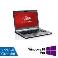Laptop FUJITSU SIEMENS E734, Intel Core i5-4200M 2.50GHz, 8GB DDR3, 120GB SSD, 13.3 Inch, Fara Webcam + Windows 10 Pro
