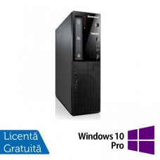 Calculator Lenovo Thinkcentre E73 Desktop, Intel Core i5-4430s 2.70GHz, 4GB DDR3, 500GB SATA, DVD-ROM + Windows 10 Pro