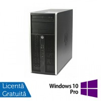 Calculator HP Compaq 6200 Pro Tower, Intel Core i7-2600 3.40GHz, 8GB DDR3, 120GB SSD, DVD-RW + Windows 10 Pro