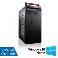 Calculator LENOVO ThinkCentre E73 Tower, Intel Core i5-4570 3.20GHz, 4GB DDR3, 500GB SATA, DVD-RW + Windows 10 Home