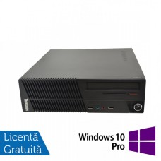 Calculator Lenovo ThinkCentre M71e SFF, Intel Core i5-2400 3.10GHz, 4GB DDR3, 250GB SATA, DVD-ROM + Windows 10 Pro