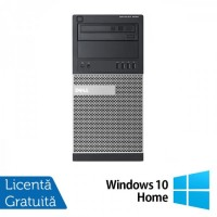 Calculator DELL Optiplex 9020 Tower, Intel Core i7-4770 3.40GHz, 8GB DDR3, 500GB SATA, DVD-ROM + Windows 10 Home