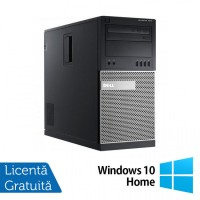 Calculator Dell OptiPlex 7010 Tower, Intel Core i3-3220 3.30GHz, 8GB DDR3, 240GB SSD, DVD-RW + Windows 10 Home