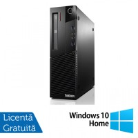Calculator Lenovo Thinkcentre M93p SFF, Intel Core i5-4570 3.20GHz, 8GB DDR3, 500GB SATA, DVD-RW + Windows 10 Home
