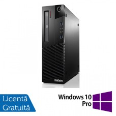 Calculator Lenovo Thinkcentre M93p SFF, Intel Core i5-4570 3.20GHz, 4GB DDR3, 120GB SSD, DVD-RW + Windows 10 Pro