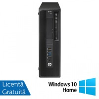 Workstation HP Z240 Desktop, Intel Xeon Quad Core E3-1230 V5 3.40GHz-3.80GHz, 32GB DDR4, SSD 512GB NVME High Speed + HDD 4TB SATA, nVidia K620/2GB, DVD-RW + Windows 10 Home