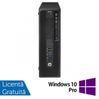 Workstation HP Z240 Desktop, Intel Xeon Quad Core E3-1230 V5 3.40GHz-3.80GHz, 16GB DDR4, SSD 240GB SATA, nVidia K620/2GB, DVD-RW + Windows 10 Pro