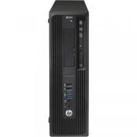 Workstation HP Z240 Desktop, Intel Xeon Quad Core E3-1230 V5 3.40GHz-3.80GHz, 24GB DDR3, SSD 120GB + HDD 1TB SATA, nVidia K620/2GB, DVD-RW